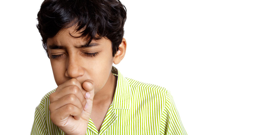 how to stop a child from coughing
