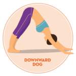 downward dog stretch