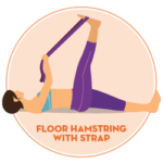 floor hamstring stretch