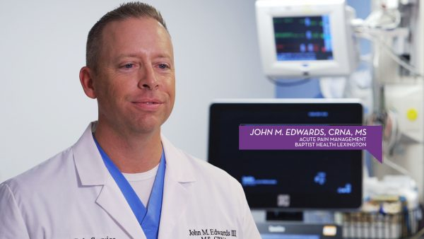 John M. Edwards, CRNA, MS Lexington
